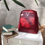Рюкзак -трансформер бордового цвета из натуральной кожи, Екатеринбург