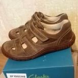 Туфли-сандалии кожаные для мальчиков Clarks 29 р, Екатеринбург