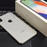Продам Apple iPhone X 64 гб, Silver, Екатеринбург