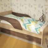 Кроватка с ящиком Кроха-2 ясень шимо 80*160 см (ТМК), Екатеринбург