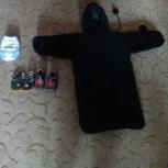 Уголок плюшевый черный сандали детские.памперсы 23 шт продам, Екатеринбург