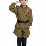 Детский военный костюм Солдатик в сапогах, арт. 5098, Екатеринбург