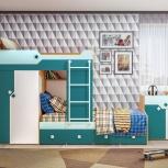 Комплект для детской комнаты Джуниор (Ник-м), Екатеринбург