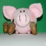 Свиношарик розовый 8см, Екатеринбург