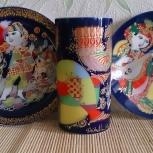 Фарфоровые тарелки по мотивам сказок, Екатеринбург