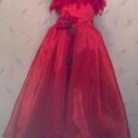 Нарядное красное платье (в садик, в школу), Екатеринбург