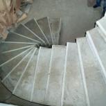 Бетонные монолитные лестницы для дома на заказ, Екатеринбург
