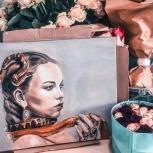Реалистичные портреты по фото маслом на холсте, Екатеринбург
