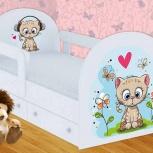 Детская кровать Котенок (Гт), Екатеринбург