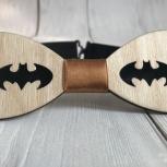 Деревянная галстук-бабочка Бэтмен, Екатеринбург