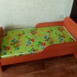 Кровать детская+ матрас на 2-6лет, Екатеринбург