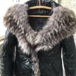 Куртка женская кожаная с чернобуркой, Екатеринбург