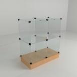 Ячейковая витрина дсп стекло 850*450*900, Екатеринбург