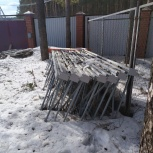 Стеллаж Палетный УЗТСО 3м, Екатеринбург
