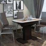 Стол обеденный раздвижной с фотопечатью Соло 1,45 (УМ), Екатеринбург