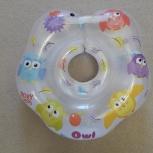Круг на шею для купания малышей OWL от 0 мес, Екатеринбург