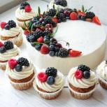 Торты и десерты на заказ от домашней кондитерской, Екатеринбург