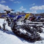 Мотосноубайк - превратите мотоцикл в снегоход, Екатеринбург