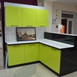 Кухня на заказ Зеленая (Финист), Екатеринбург