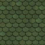 Гибкая черепица Shinglas Танго, зеленый, Екатеринбург
