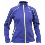 Куртка RAY (Woman) фиолетовая с лимонной молнией лимонный шов, Екатеринбург