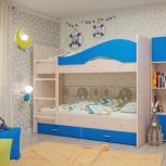 Двухъярусная кровать Мая с ящиками (Тмк), Екатеринбург