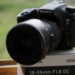 Отличная Sony a68 с Sigma 18-35 f1.8 Art или другими объективами, Екатеринбург