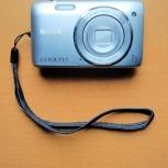 Фотоаппарат Nikon Coolpix S3500, Екатеринбург