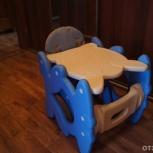 Стульчик-трансформер(стульчик для кормления в парту со стулом.), Екатеринбург