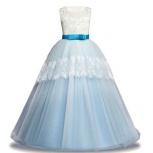 Платье Мединилла белое с голубым НОВОЕ, Екатеринбург