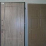 Замена внутренней отделки на сейф дверях. Ремонт сейф дверей .Откосы, Екатеринбург