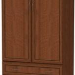Шкаф для белья со штангой и ящиками Арт. 103 (Гарун), Екатеринбург