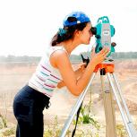 Видео-курс по геодезии. Работа с тахеометром, Екатеринбург
