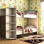 Двухъярусная кровать с ящиками (Техно-М), Екатеринбург