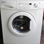 Узкая стиральная маш Samsung. На 3,5 кг. Возможна доставка, подключен., Екатеринбург
