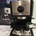 Продаю кофеварку рожковую Delonghi EC 156.B, Екатеринбург