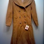 Пальто демисезонное (новые). Винтаж, оригинал, 1990-е годы, Екатеринбург