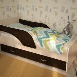 Кроха-2, Детская кровать 80*160 см, Венге, Екатеринбург