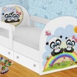 Детская кровать Панды (Гт), Екатеринбург