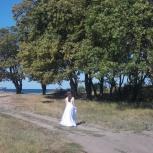 Продам уникальное свадебное платье. р. 42-44 (рост 165 см), Екатеринбург