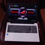 Беленький красивый ноутбук Asus, Екатеринбург