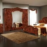 Модульная спальня Тициана орех Комплект с 5-ти дверным шкафом (Авт), Екатеринбург