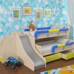 Уголок школьника №5-2 двухъярусная кровать (Элфис), Екатеринбург