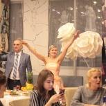 Оформление свадеб и залов кафе большими цветами, Екатеринбург