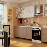 Кухня с фотопечатью 2,0 м Сакура (Альбина), Екатеринбург