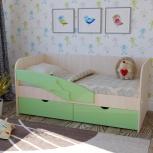 Детская кровать Дельфин салатовый (Миф), Екатеринбург