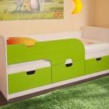 Детская кровать Минима лайм (Бтс), Екатеринбург
