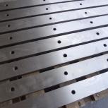 Ножи для гильотинных ножниц 510х60х20мм, 520х75х25мм, 540х60х16мм, Екатеринбург