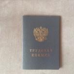 Трудовая книжка, Екатеринбург