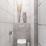 Ремонт туалета 1,2кв.м., Екатеринбург